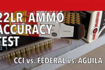 22lr Accuracy Test: Aguila vs. Federal vs. CCI