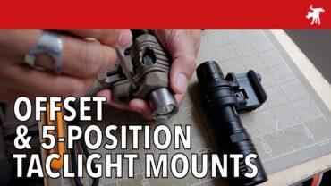 Element 5-Position & QR Offset Taclight Mounts