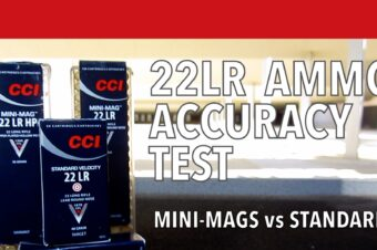 22LR Test: CCI Mini-Mags vs Standard
