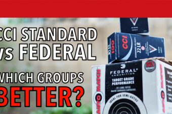CCI Standard vs Federal Auto Match 22LR