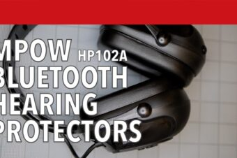 MPOW HP102A Bluetooth Hearing Protectors