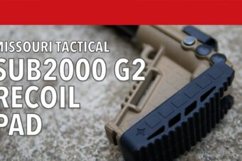 Missouri Tactical Sub2000 Recoil Pad