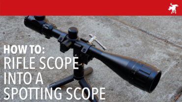 Upcycling an old Rifle Scope