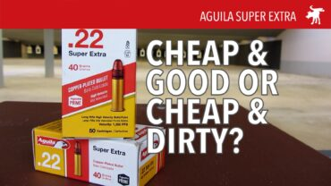 Is Aguila Dirty Ammo?