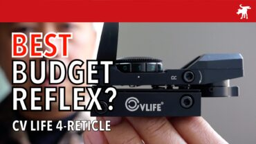 CVLife 4-Reticle Reflex Sight Review