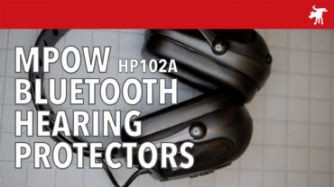 MPOW HP102A Bluetooth Hearing Protector Review
