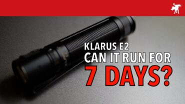 Klarus E2 Review: 7 Day Runtime?