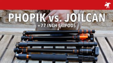 Phopik 80″ vs. Joilcan 77″ Tripod Review