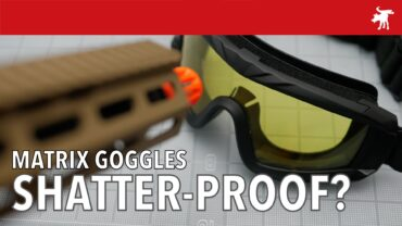 Are Matrix Goggles really shatter-proof?