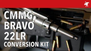 CMMG Bravo AR 22LR Conversion Kit & Accuracy Test