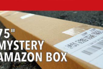 75″ Mystery Amazon Box