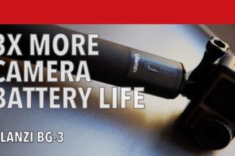 Ulanzi BG-3 Battery Grip Review