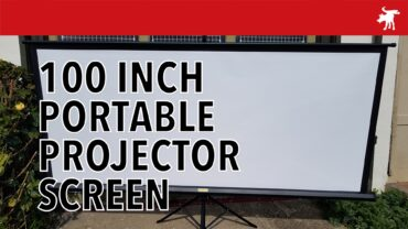 Bomaker 100″ Portable Projector Screen