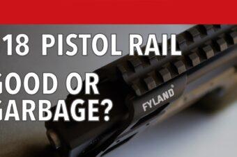 Fyland Picatinny Pistol Rail Adapter