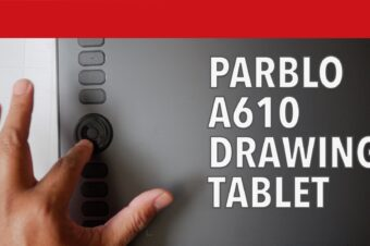 Parblo A610 Drawing Tablet