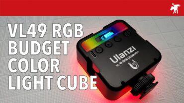 Ulanzi VL49 RGB: Add Some Color