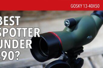 Gosky 13-40×50 Spotting Scope
